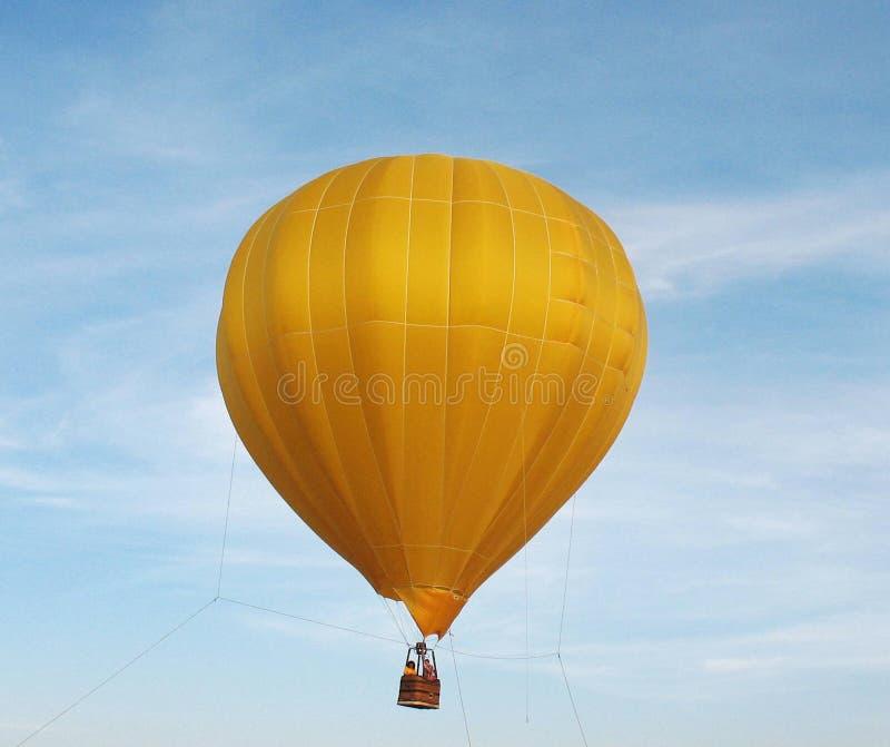 balonowy kolor żółty zdjęcie stock
