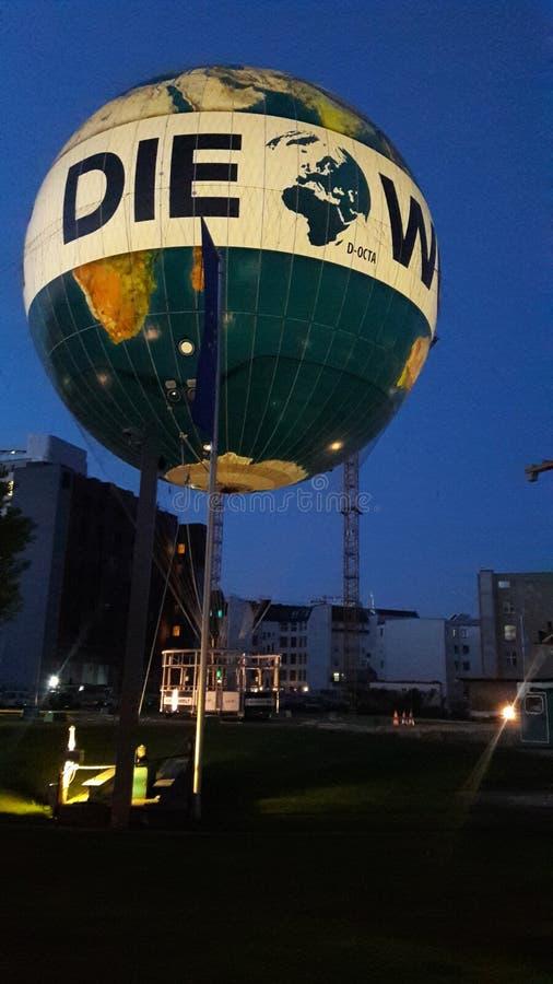 Balonowy miasto Berlin obraz royalty free