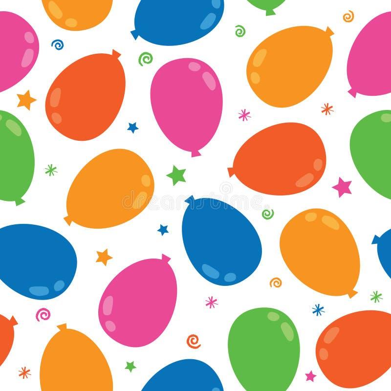 balonowy wzór ilustracja wektor