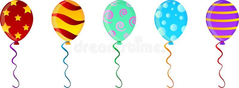 balony ilustracja wektor
