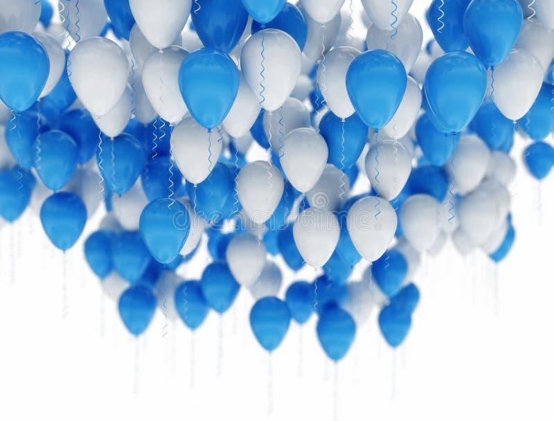 balony odizolowane white ilustracja wektor