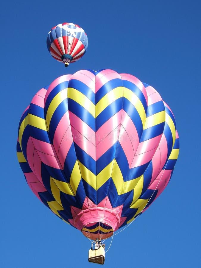 balony powietrza dwie gorące zdjęcia royalty free
