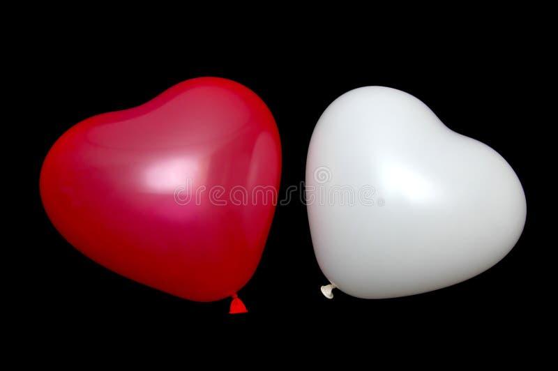 baloon夫妇 免版税库存图片