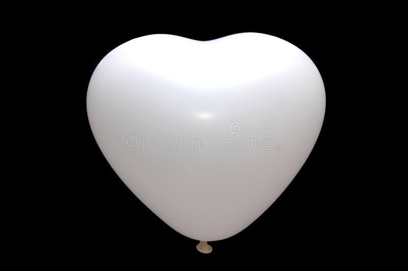 baloon查出的白色 库存例证