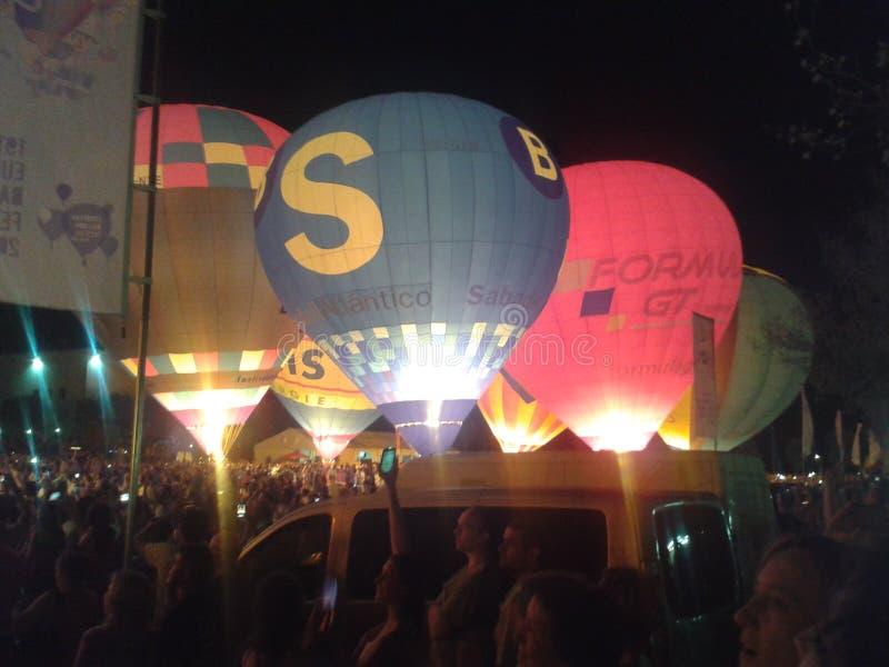 Baloon节日 库存图片