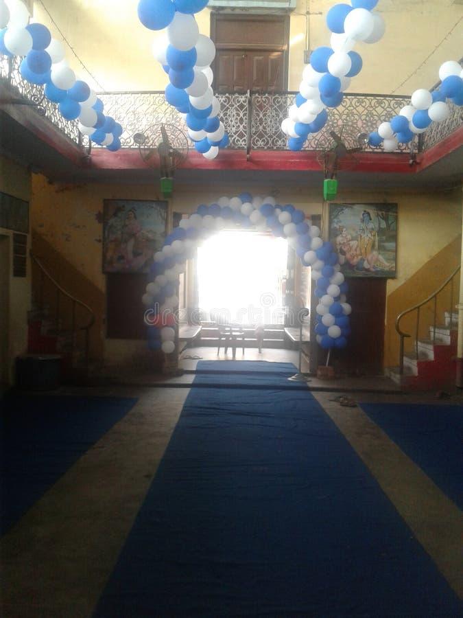Baloon dekoracja zdjęcia royalty free