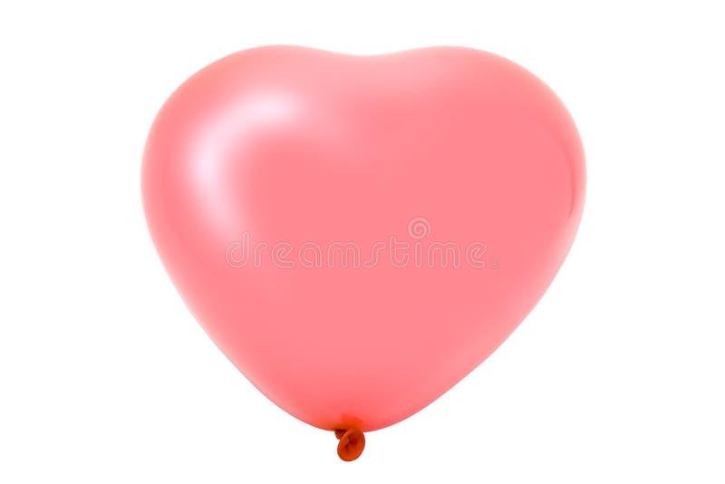 baloon kształt serca zdjęcia stock