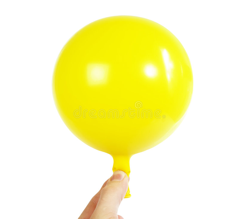 baloon ręka zdjęcia stock