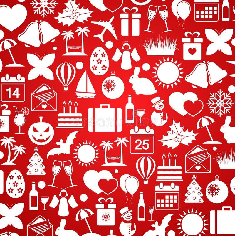 baloons礼品节假日图标例证向量 向量例证