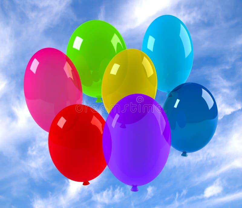 Baloons lizenzfreie stockfotos