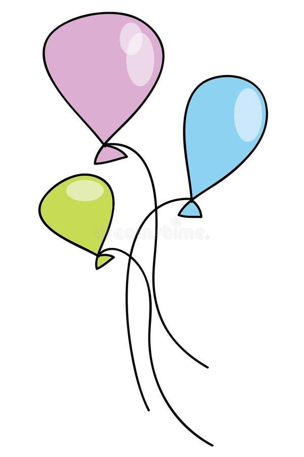 Baloons imagenes de archivo