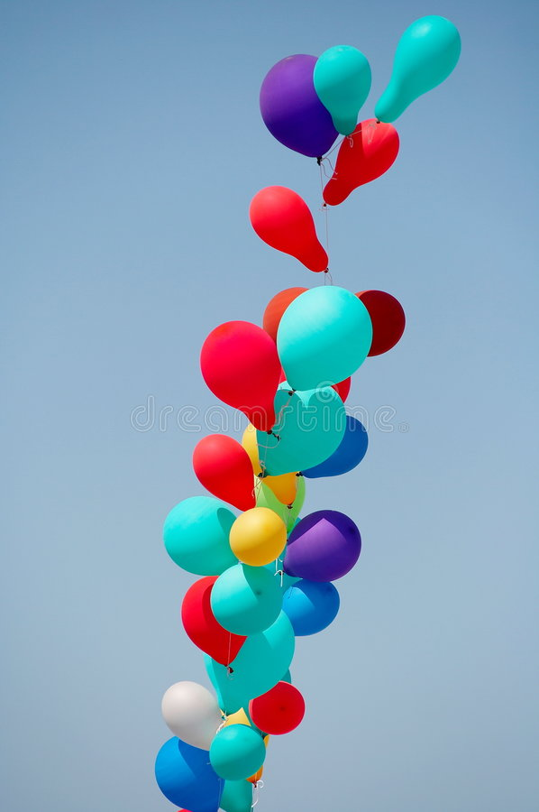 Download Baloons stock image. Image of play, birthday, balloons - 3125569