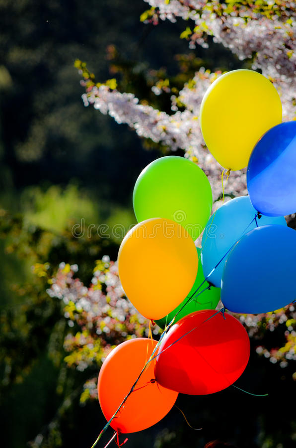 Baloons photographie stock libre de droits