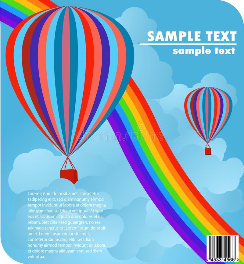 Baloons stock illustration