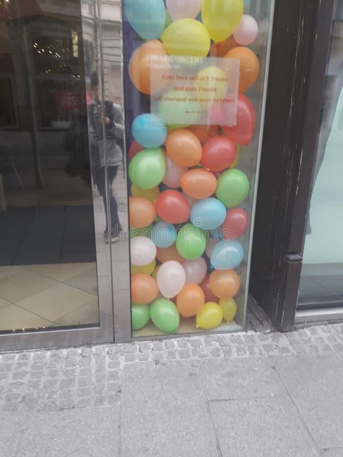 Baloons royaltyfria bilder