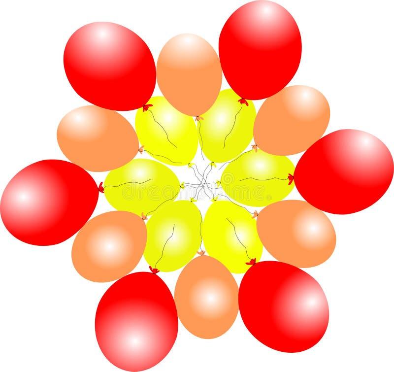 Baloons del aire foto de archivo