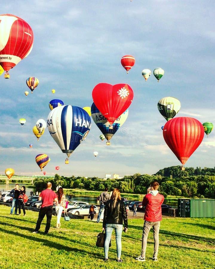 Baloons dell'aria immagini stock libere da diritti