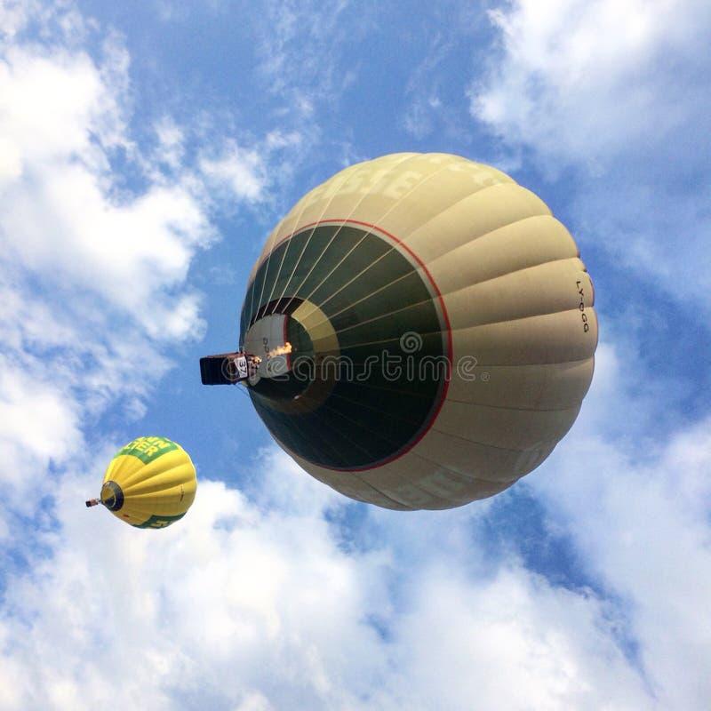 Baloons dell'aria fotografia stock