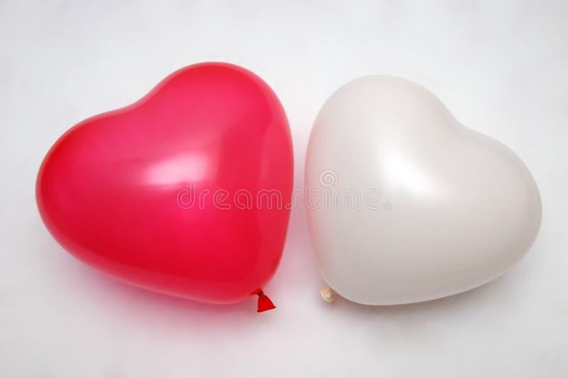 Baloons do amor imagens de stock royalty free