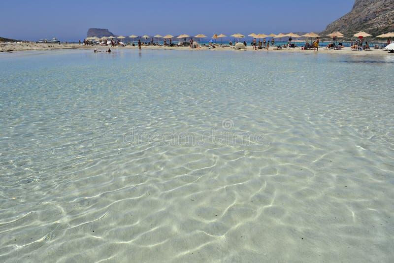 Balos在克利特,希腊 免版税库存图片