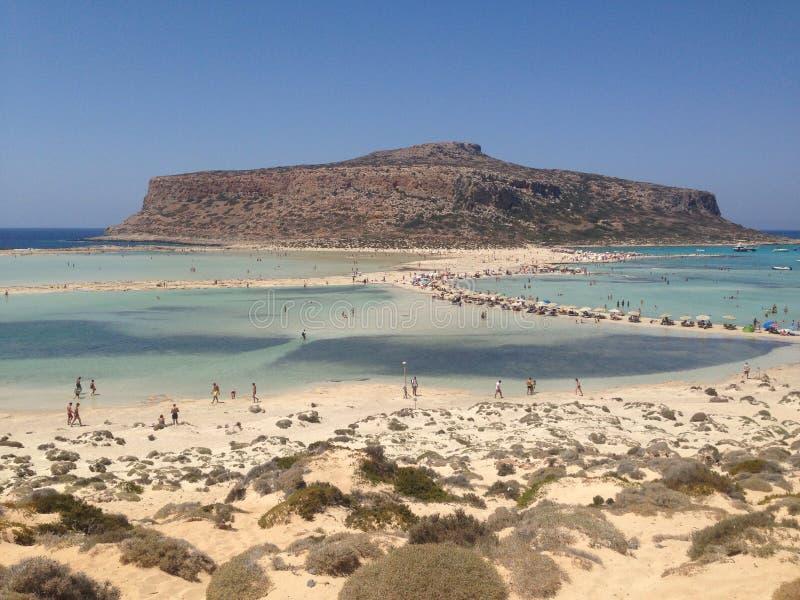 Balos, Creta 免版税库存照片