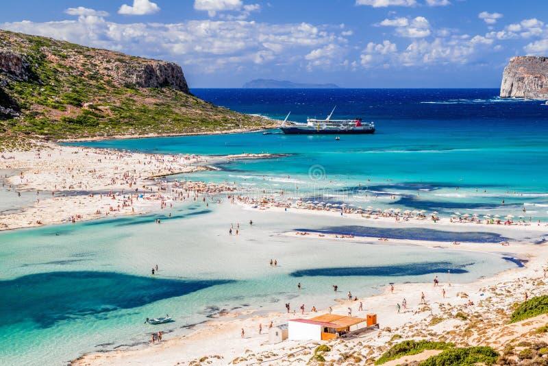Balos Крит Греция стоковое фото