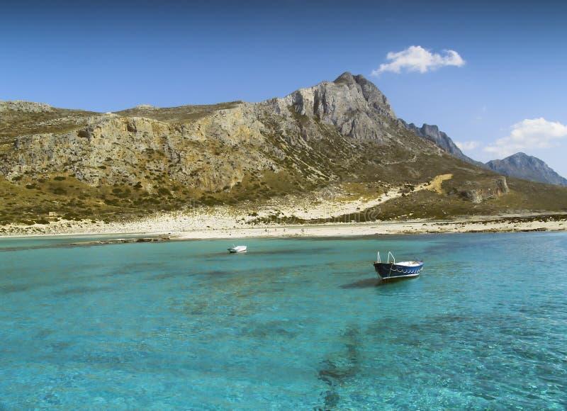 Download Balos Bay stock photo. Image of mountain, azur, greece - 1420496