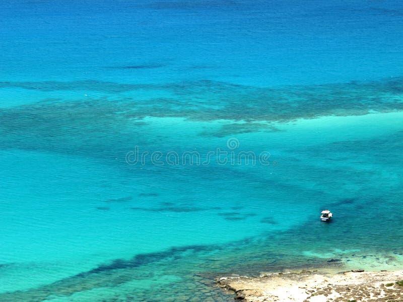 Balos beach in Crete stock images
