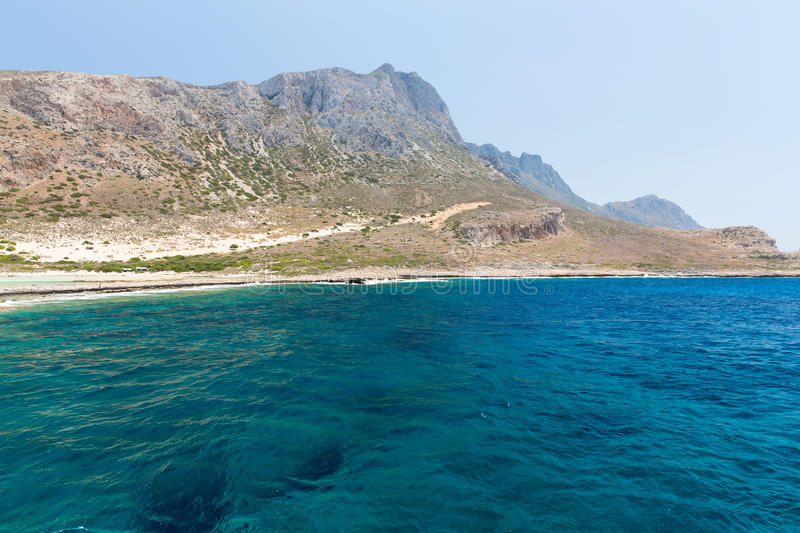 Download Balos Beach. View From Gramvousa Island, Crete In Greece.Magical Turquoise Waters, Lagoons, Beaches Stock Photo - Image: 40518394