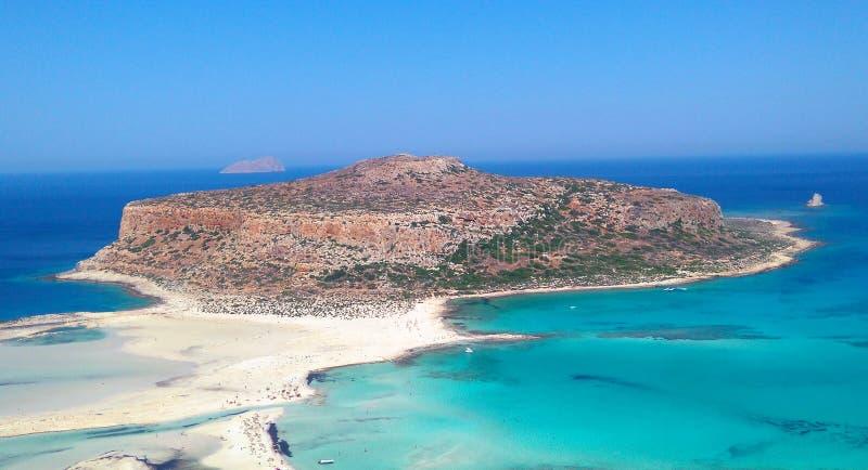 Balos, crete stock images