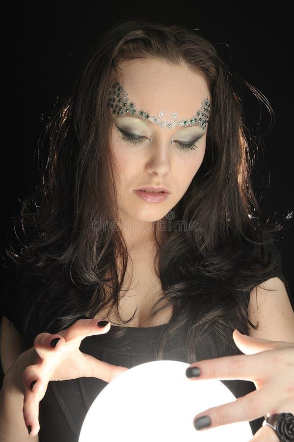 Balowa Krystaliczna Magia Robi Target1353_0_ Bezpłatna Fotografia Stock