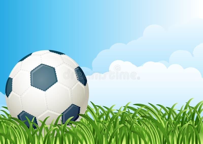 balowa piłka nożna ilustracji