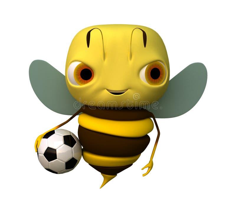 balowa pszczoła ilustracji
