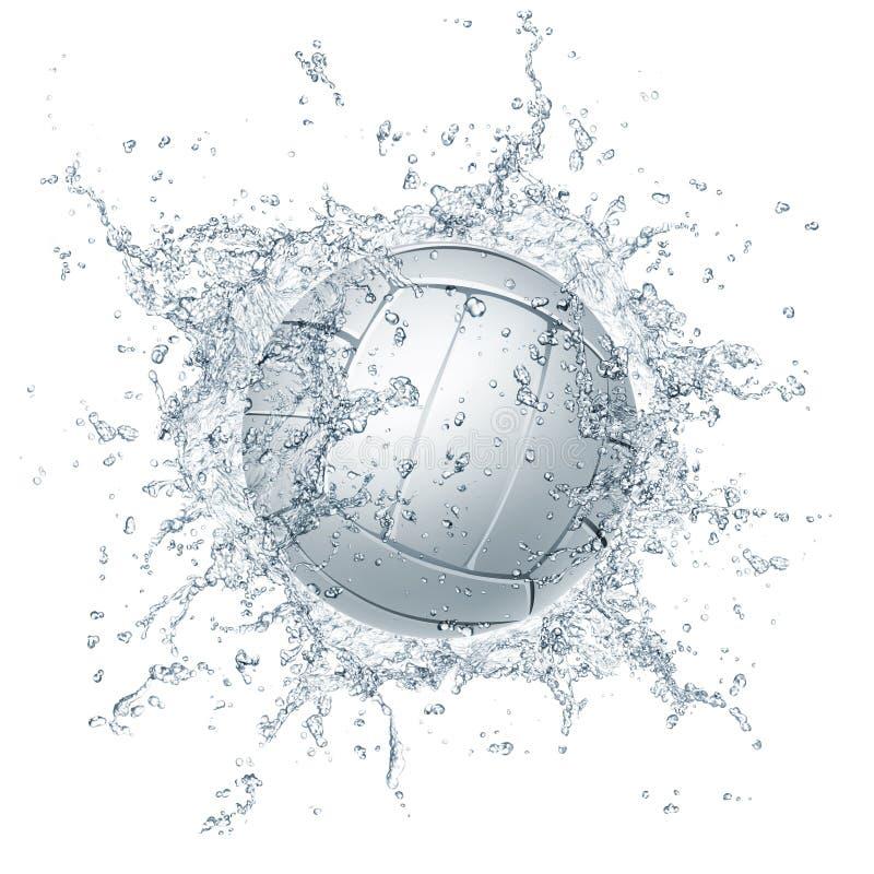balowa siatkówka ilustracja wektor
