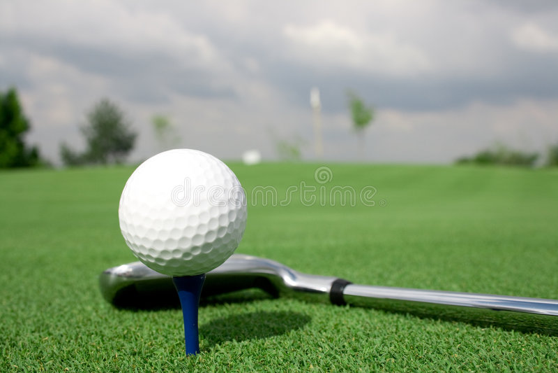 balowego klubu golfa cienia widok zdjęcie royalty free