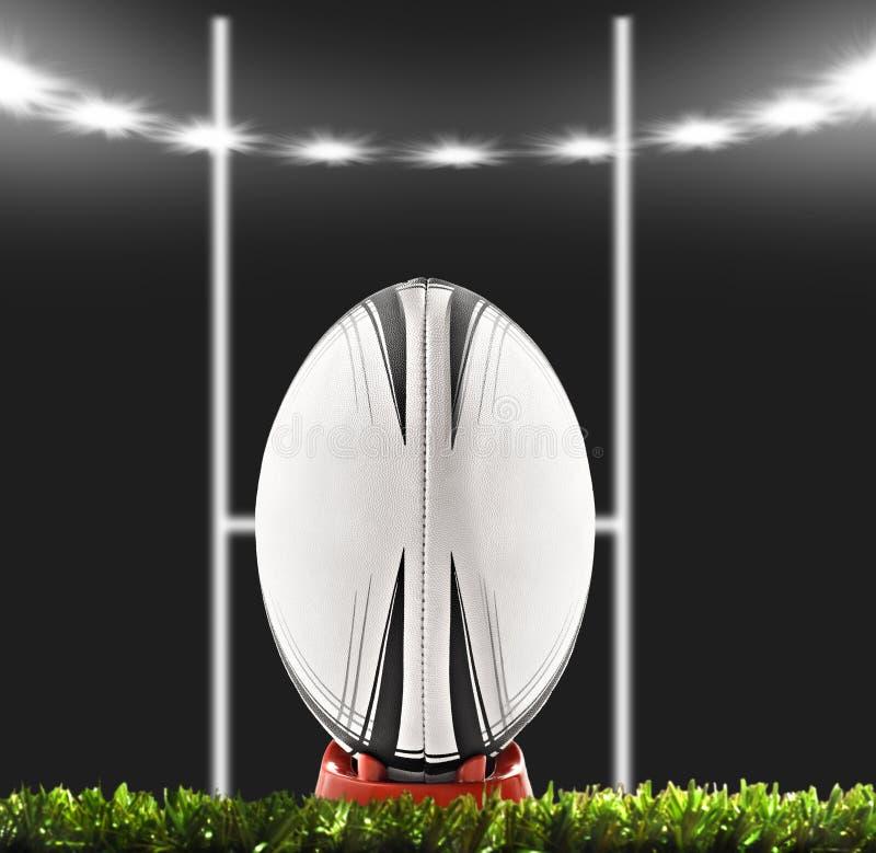 balowego pola rugby zdjęcia stock