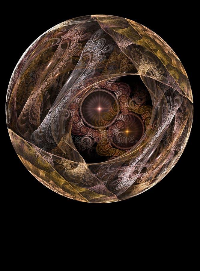 balowy chrystal szkło textured ilustracji