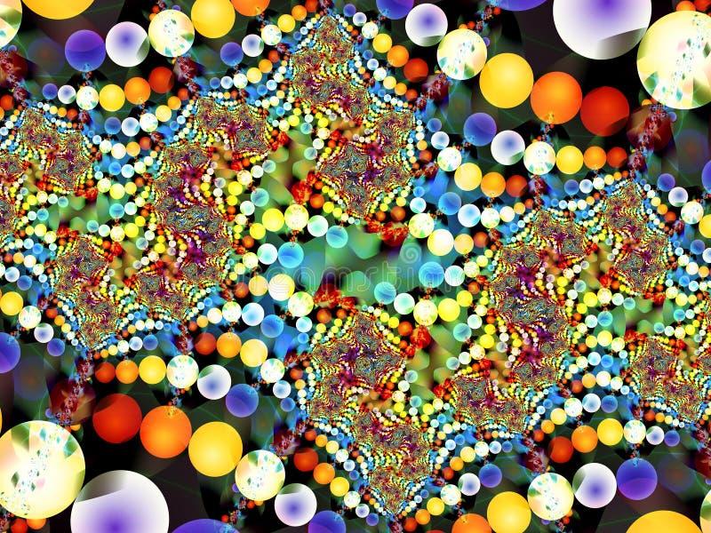 Balowy jamy fractal ilustracji