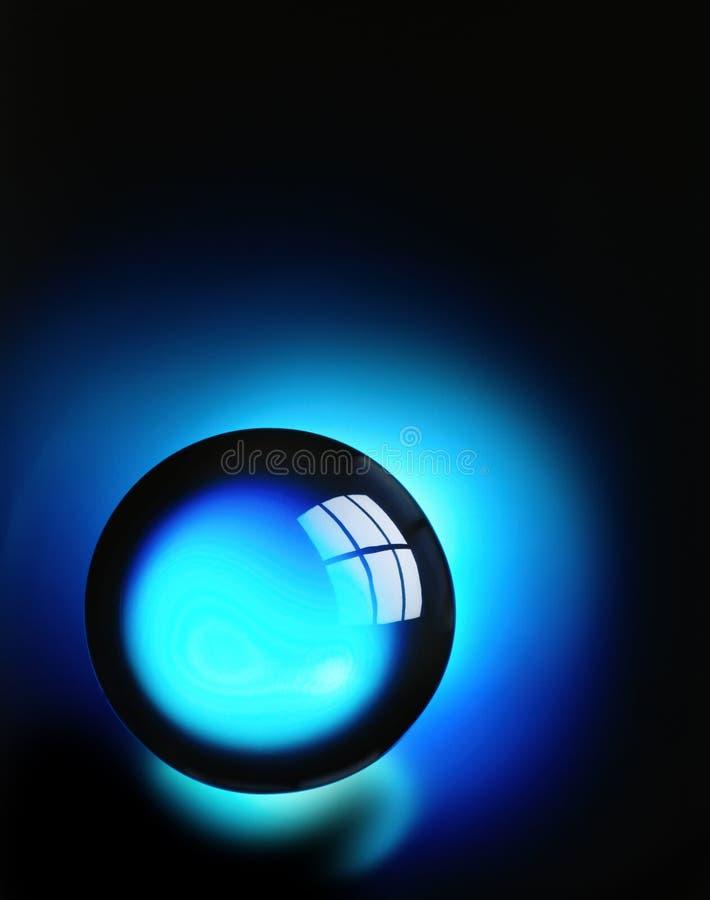 balowy kryształ obraz stock