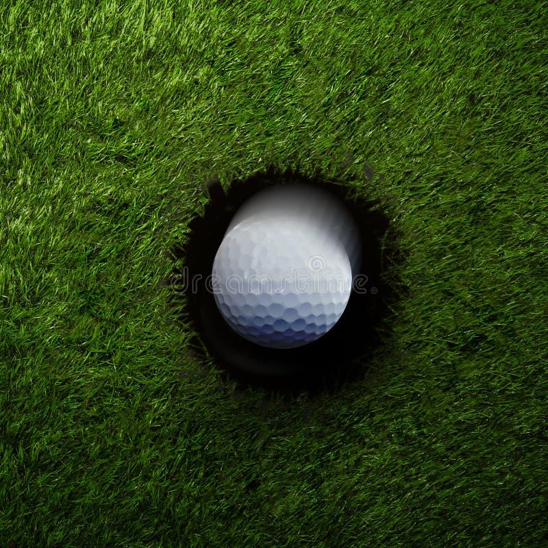 Balowy pobliski Dziury Golfa Tło zdjęcie royalty free