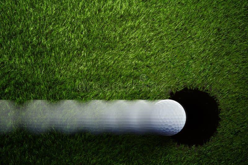 Balowy pobliski Dziury Golfa Tło zdjęcie stock