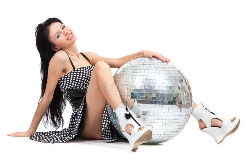 balowy tancerza dyskoteki przyjęcie zdjęcie royalty free