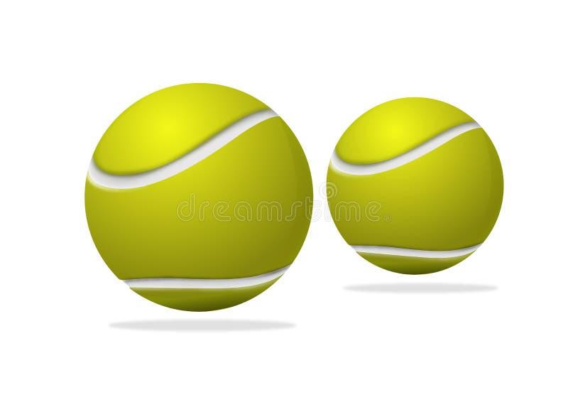 balowy tenis ilustracji