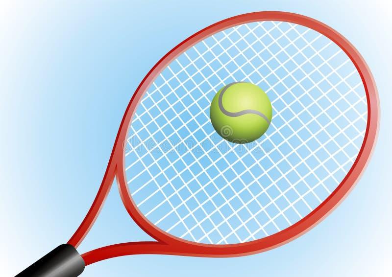balowy tenis royalty ilustracja
