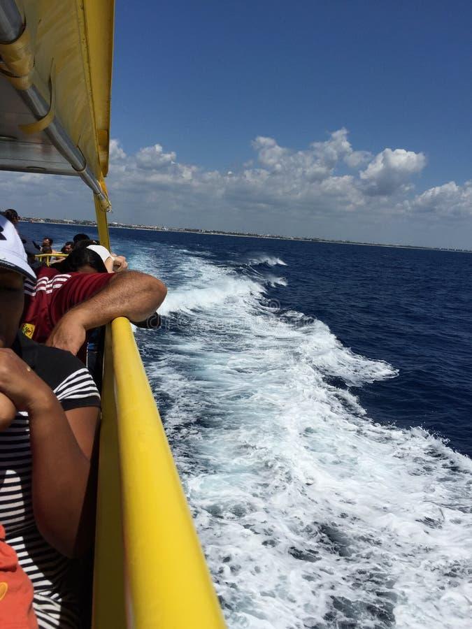 Balsa de Cozumel! imagens de stock royalty free