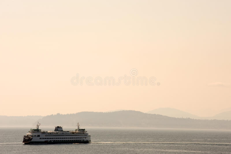 Balsa de Seattle foto de stock royalty free