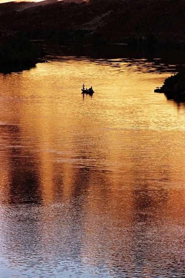 A balsa do Lee, o Rio Colorado, AZ foto de stock