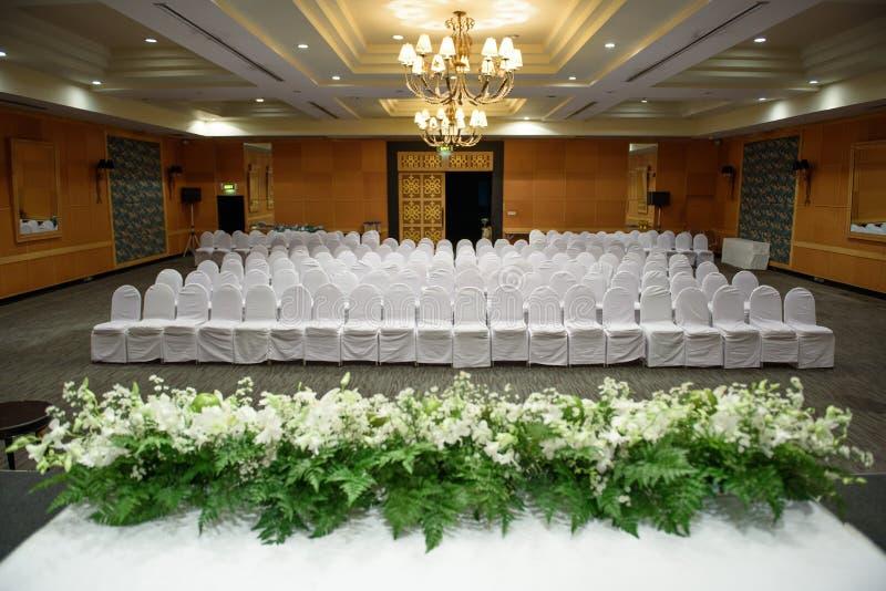 Balsal för meetting royaltyfri bild