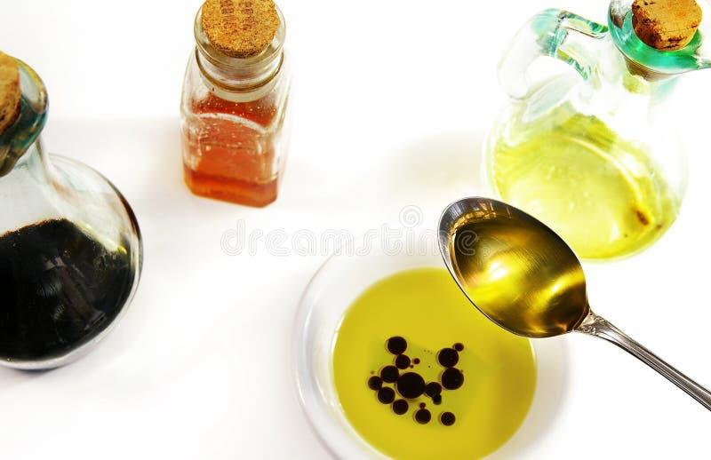 balsamic olive octu oleju zdjęcie royalty free