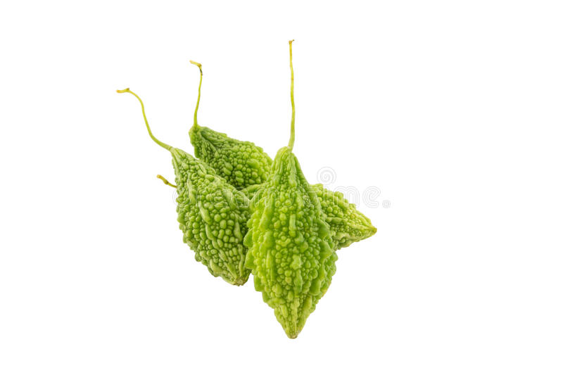 Balsamo Apple verde su bianco con il percorso di ritaglio immagine stock libera da diritti